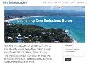 Zero Emissions Byron - website