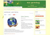 Eco Parenting - Jane Hanckel