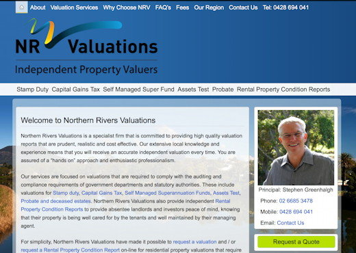 Stephen Greenhalgh - Northern Rivers Valuations