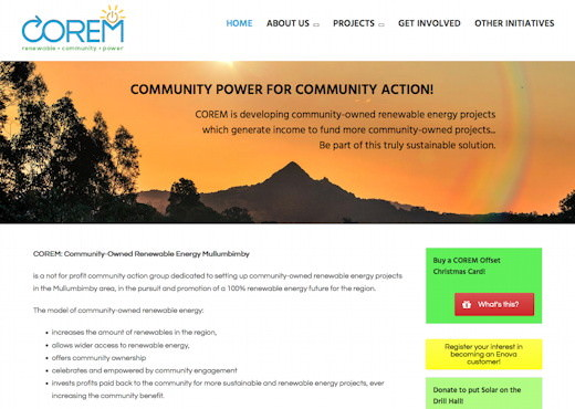 Community-Owned Renewable Energy Mullumbimby