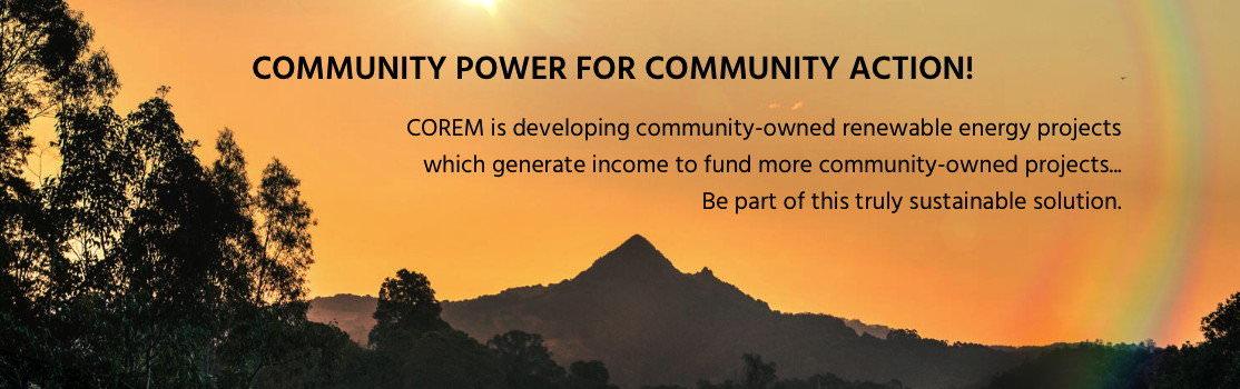 COREM – Community Owned Renewable Energy Mullumbimby