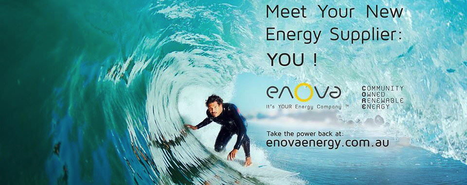 Enova – community owned renewable energy retailer