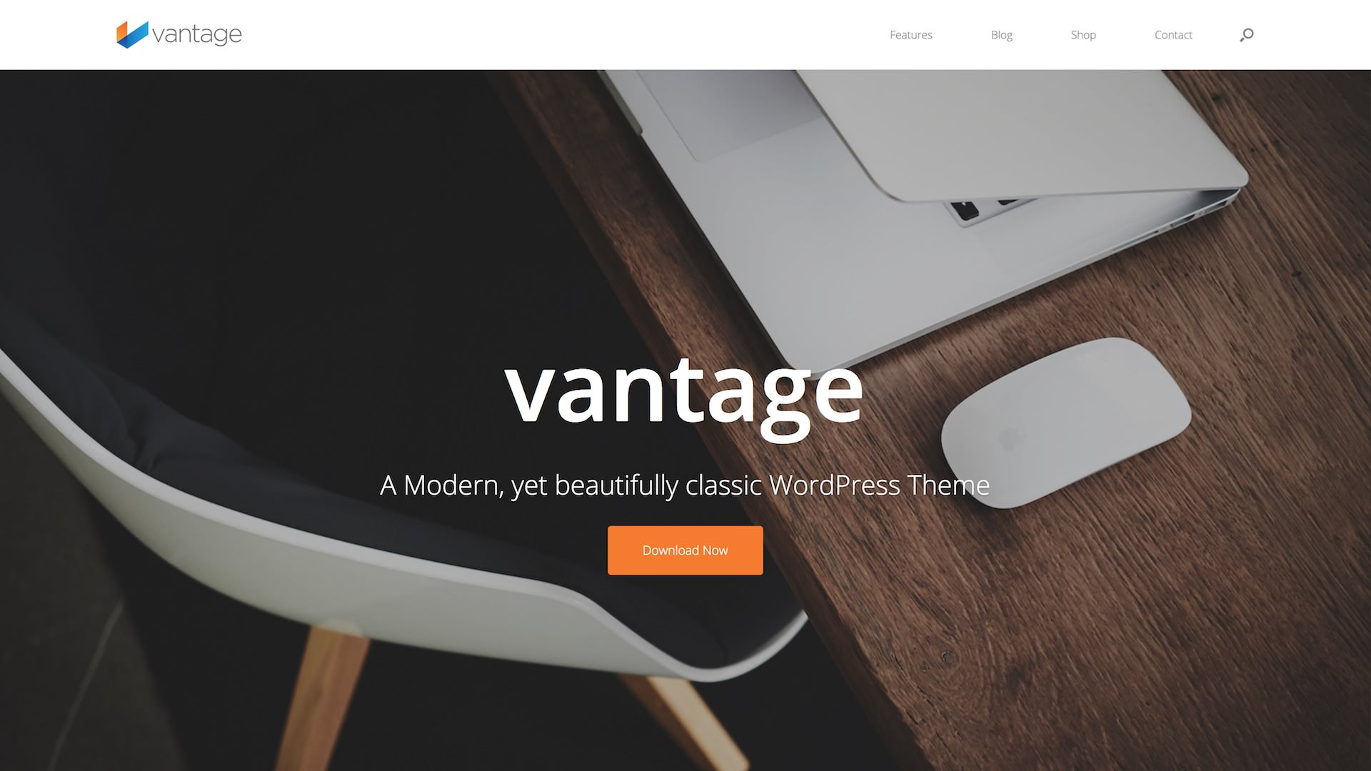 SiteOrigin Vantage Theme