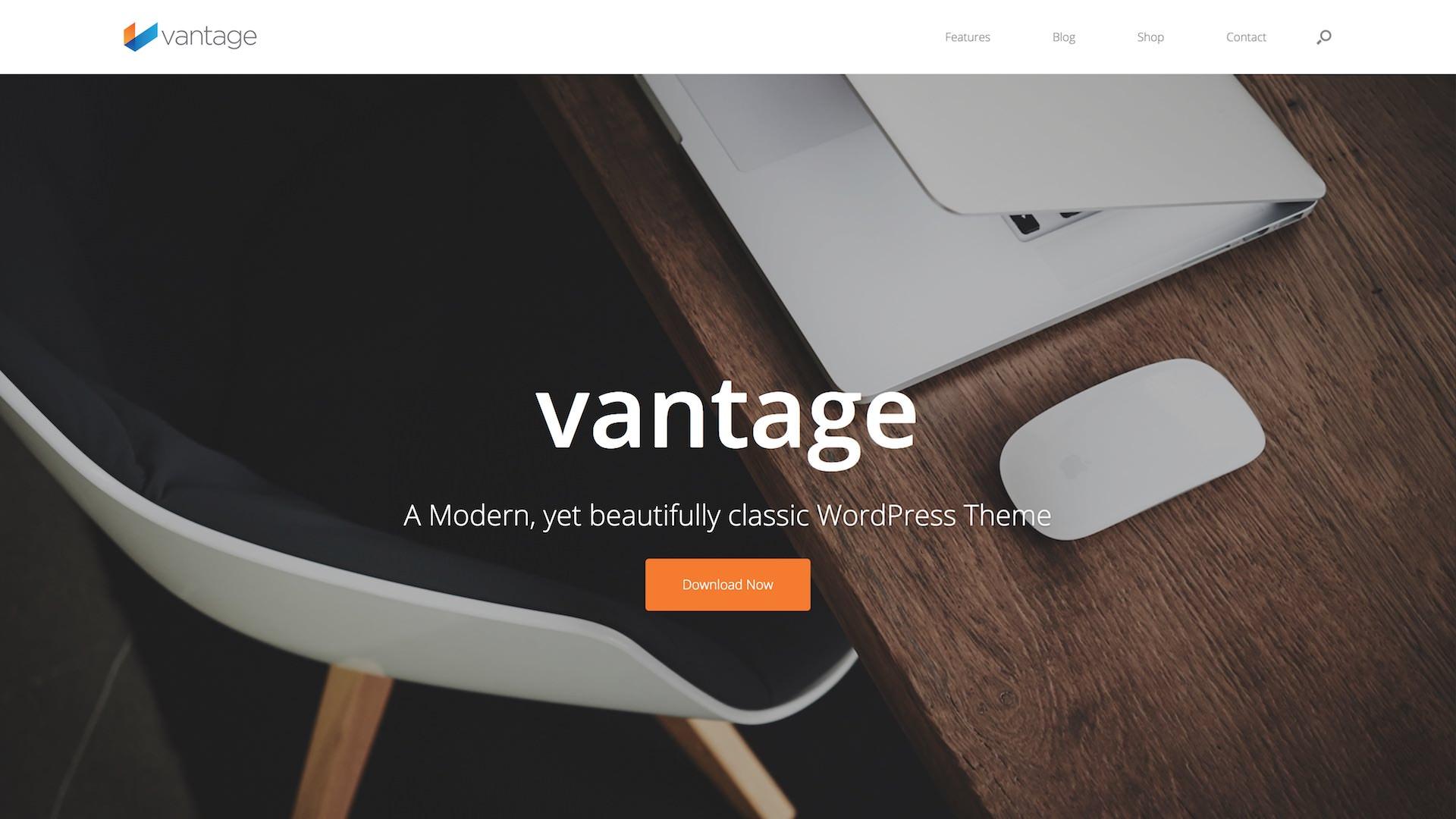 SiteOrigin Vantage Theme